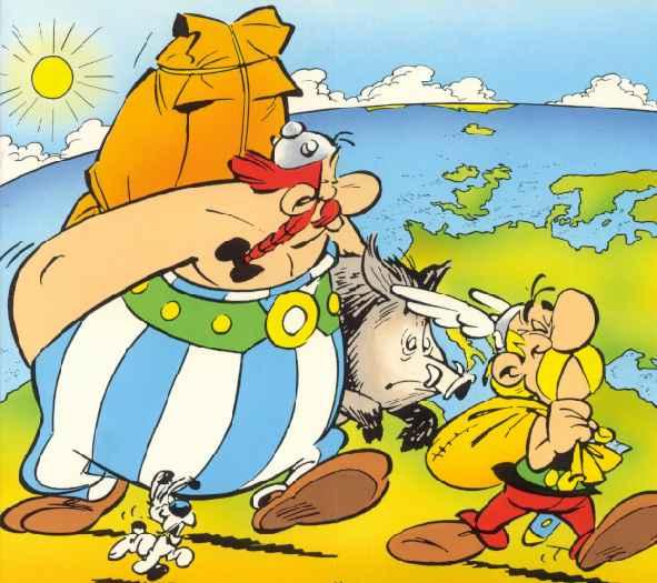 Risultati immagini per bretagna asterix